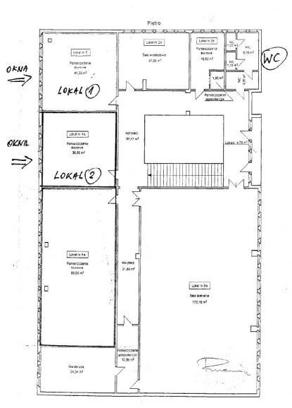 Biuro rachunkowe Es-Jot - Plan sytuacyjny lokali